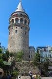 Galata Tower taken in Istanbul, Turkey Stock Images