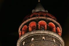 Galata Tower Top Royalty Free Stock Photo