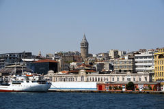 Galata view Stock Photography