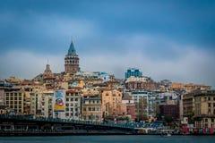 Galata wierza, Istanbuł, Turcja obraz stock