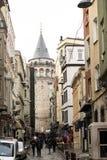 galataistanbul torn Royaltyfri Fotografi