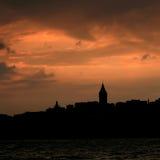 galataistanbul torn Royaltyfri Foto