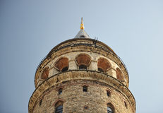 galataistanbul torn Royaltyfri Bild