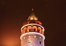 galataistanbul torn Fotografering för Bildbyråer