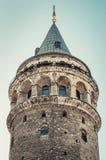 galataistanbul torn kalkon Arkivbild