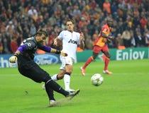 Galatasaray FC -曼联足球俱乐部FC 免版税库存照片