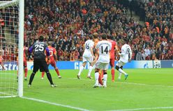 Galatasaray FC -曼联足球俱乐部FC 图库摄影