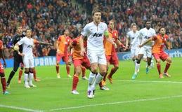 Galatasaray FC - Manchester United FC Arkivbild