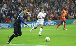 Galatasaray FC - Manchester United FC Lizenzfreies Stockbild