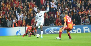Galatasaray FC - Manchester United FC Stock Image