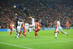 Galatasaray FC - Manchester United FC Stock Photo