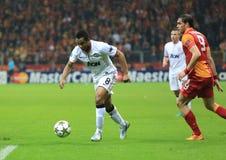Galatasaray FC - Manchester United FC arkivbilder