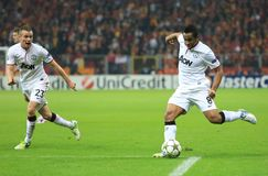Galatasaray FC - Manchester United FC Lizenzfreie Stockbilder