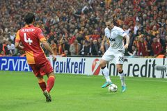Galatasaray FC - Manchester United FC Photographie stock