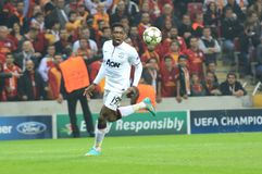 Galatasaray FC - Manchester United FC Photo libre de droits