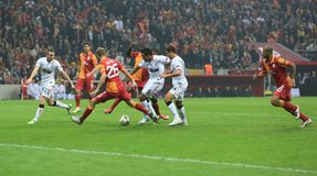 Galatasaray FC - Manchester United FC Stock Images