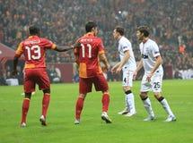 Galatasaray FC - Manchester United FC Stockbilder