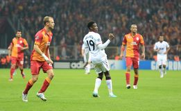 Galatasaray FC - Manchester United FC Royalty Free Stock Photo