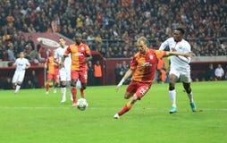 Galatasaray FC - Manchester United FC Photos libres de droits