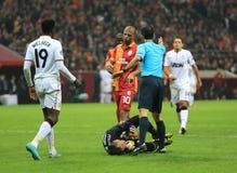 Galatasaray FC - Manchester United FC Lizenzfreies Stockfoto