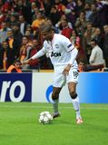 Galatasaray FC - Manchester United FC Stock Photos