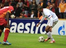 Galatasaray FC - Manchester United FC Stockfotografie