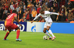 Galatasaray FC - Manchester United FC Photo libre de droits