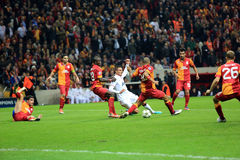 Galatasaray FC - Manchester United FC Royalty Free Stock Photos