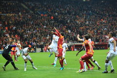 Galatasaray FC - Manchester United FC Royalty Free Stock Image