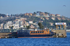 Galatasaray islet in Istanbul, Turkey Stock Image