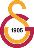 Galatasaray spor kulubu logo Obraz Royalty Free