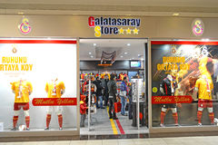 Galatasaray Store Royalty Free Stock Images