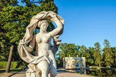 Galatea sculpture, St. Petersburg , Russia Royalty Free Stock Photos