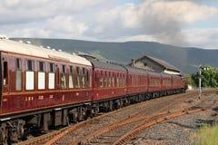 Galatea steam train with Fellsman, Kirkby Stephen Stock Photos