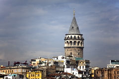 Galatea Tower. The Galatea tower located in Istanbul Stock Image