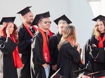 Free GALATI, ROMANIA - JUNE 16, 2017. University Graduates At Graduation Ceremony Stock Image - 94897851