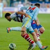 Gracze futbolu Zdjęcia Royalty Free