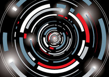 galatic tunel royalty ilustracja