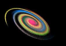 galax royaltyfri foto