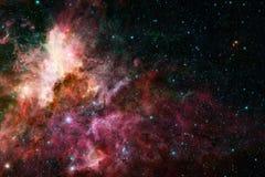 Galax i yttre rymd, sk?nhet av universum arkivbilder