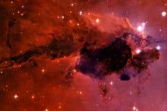 Galax n?gonstans i yttre rymd Best?ndsdelar av denna avbildar m?blerat av NASA royaltyfri foto