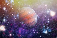 Galax och nebula abstrakt bakgrundsavstånd Beståndsdelar av denna avbildar möblerat av NASA Royaltyfri Bild