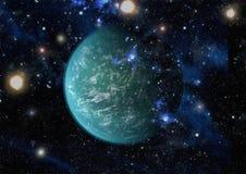 Galax och nebula abstrakt bakgrundsavstånd Beståndsdelar av denna avbildar möblerat av NASA Fotografering för Bildbyråer