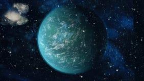 Galax och nebula abstrakt bakgrundsavstånd Beståndsdelar av denna avbildar möblerat av NASA Royaltyfria Foton