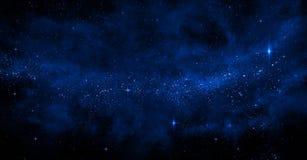 Galaxbakgrund royaltyfri fotografi