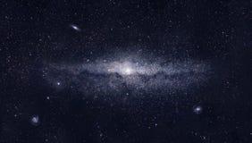 Galaxia brillante Stock de ilustración