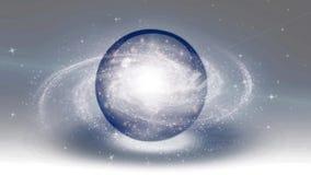 Galaxia de giro ilustración del vector