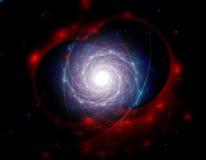 Galaxia de la luz Fotos de archivo