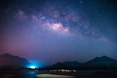 Galaxia de la vía láctea Fotos de archivo