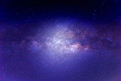 Galaxia de la vía láctea Imagenes de archivo